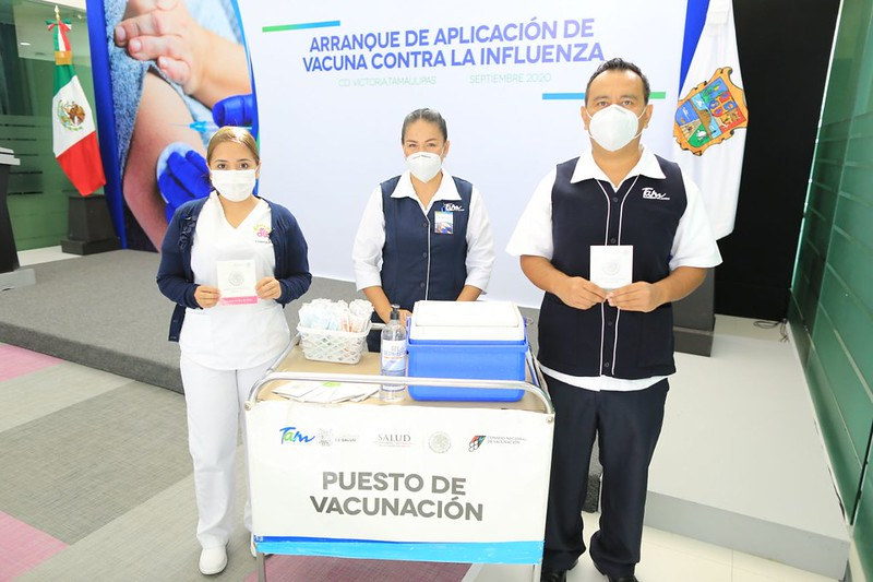 TAM-183-2020.-Gobierno de Tamaulipas prové de vacunas anti influenza a instituciones federales de salud (2)
