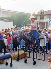 Man Performs Rope Tricks, Chisholm Trails Roundup, 1993
