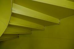 Spiral stairs @ P+R Étoile @ Carouge