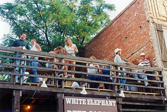 Roof Deck, White Elephant Saloon, Fort Worth Stockyards, 1993
