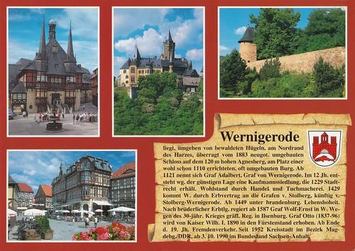 Wernigerode / Sachsen-Anhalt / Deutschland / Germany