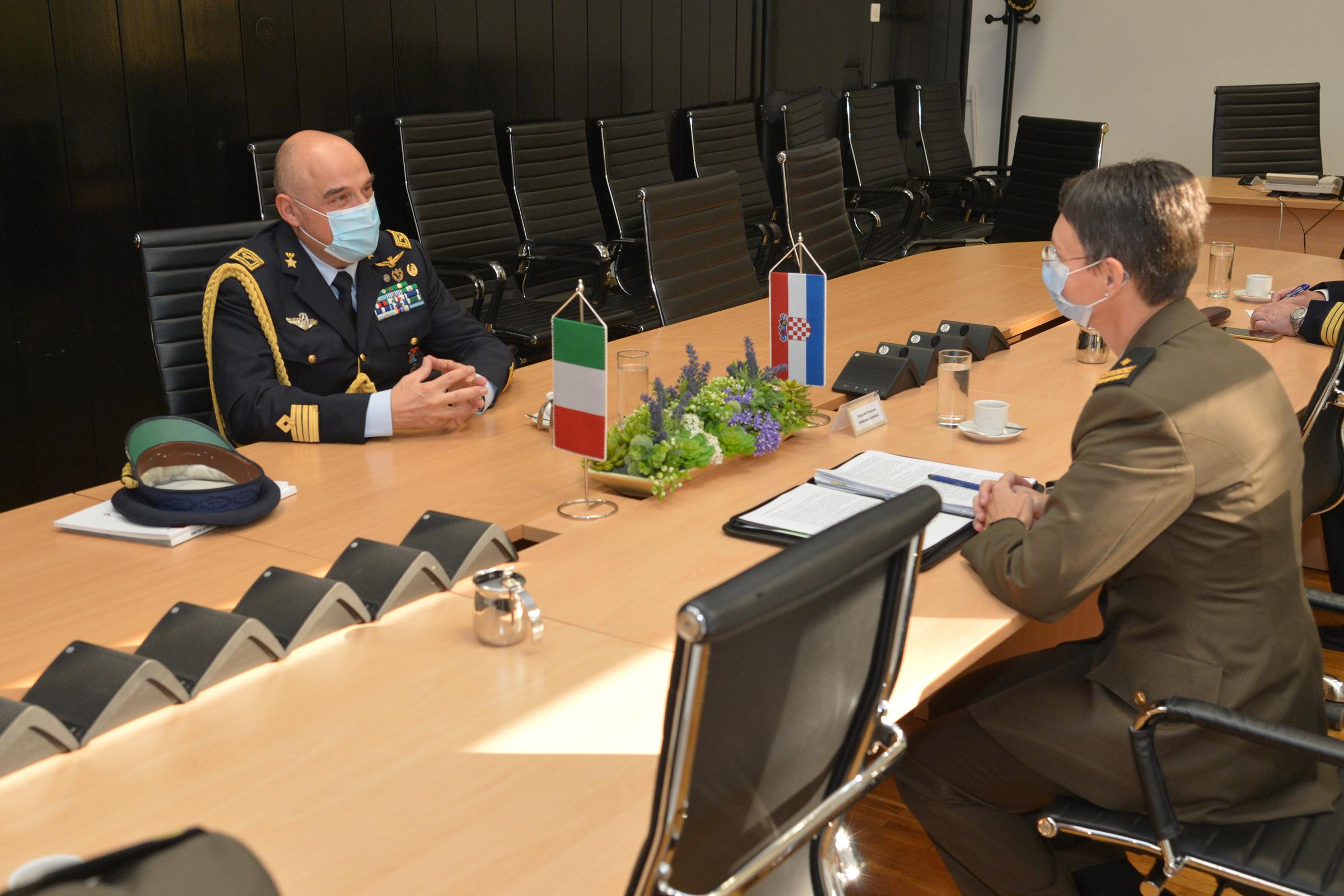 Nastupni posjet vojnog izaslanika Talijanske Republike