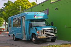 Neighborly Care Network Bus, Downtown Palm Harbor, Florida