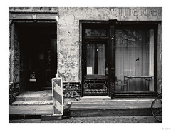 An old tailor shop. How a neighborhood can change ... Prenzlauer Berg is a good example of this.