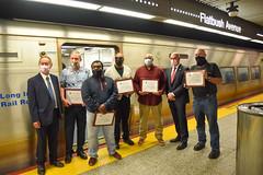 Heroic LIRR Employees Save Customer's Life