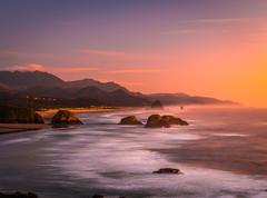 Oregon Fine Art Seascape Ocean Art! Ecola State Park Cannon Beach Sunset Fuji GFX100 Fine Art Landscape Nature Photography! Oregon Wild Coast! Elliot McGucken 45EPIC Master Medium Format Photographer Fuji GFX 100 & Fujinon Fujifilm GF Lens!