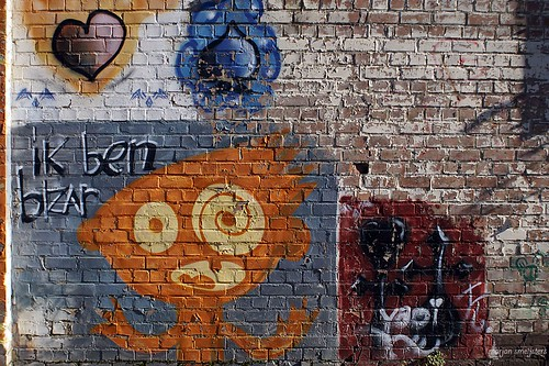 iK ben bizAr, Street Art Ghent, Belgium