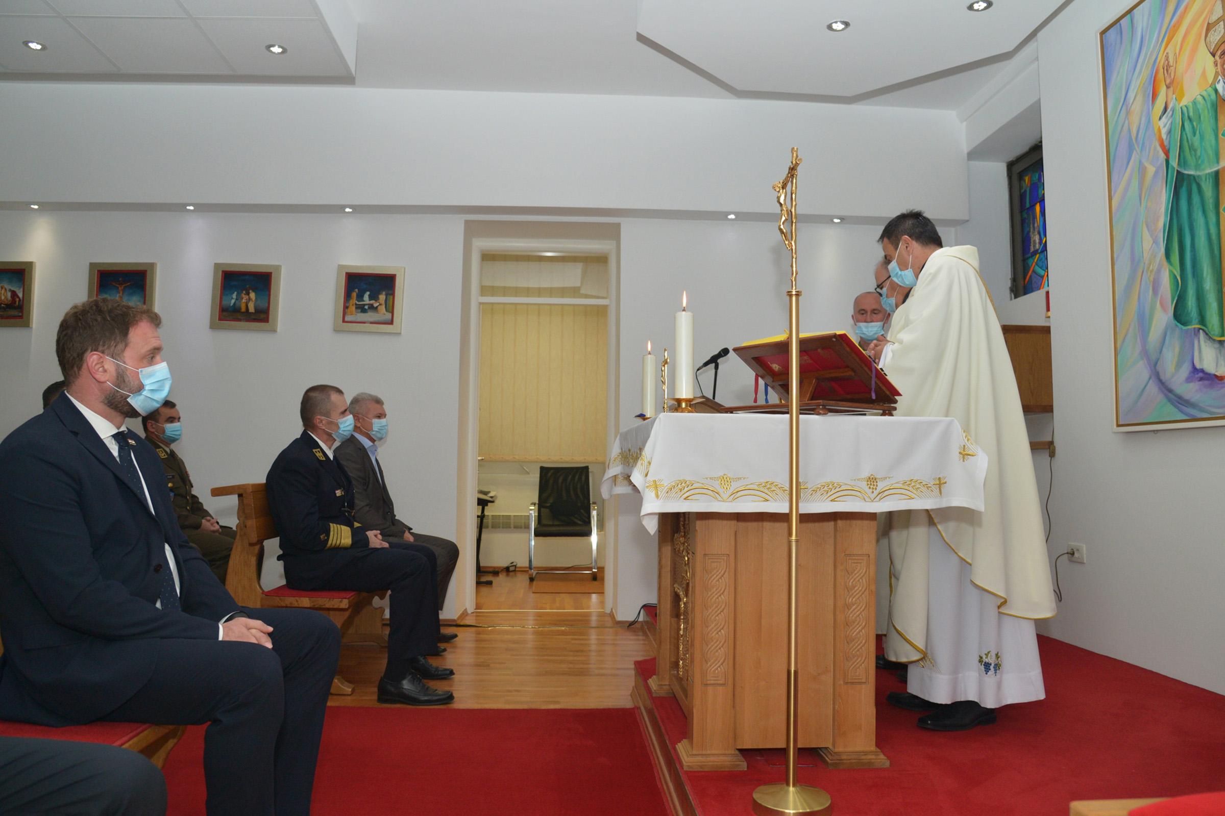 """Obilježen Dan vojne kapelanije """"Sveti Ivan Pavao II."""""""