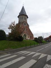 Fromelles, Église catholique Saint-Jean-Baptiste - Photo of Herlies