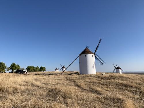 Moulins de La Mancha - Andalousie 2020