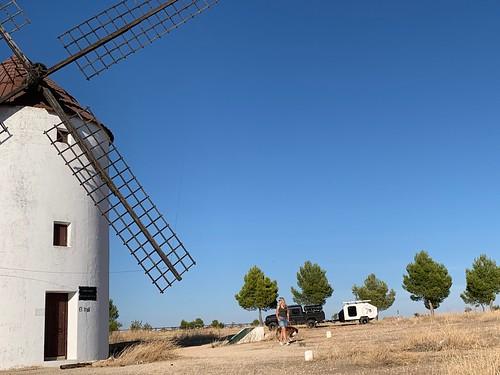 Les Moulins de La Mancha - voyage Andalousie 2020