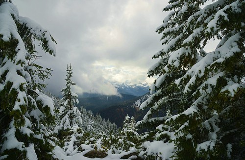 Kochel - Snow and Clouds