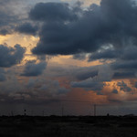 Clouds over Dungeness by Jane Needham