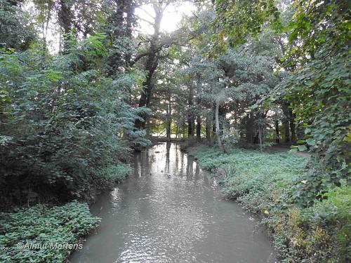Kleine Pleiße, Schlosspark Rötha