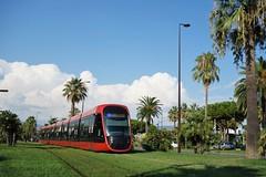 Alstom Citadis X 05 n°030  -  Nice, LIGNES D'AZUR