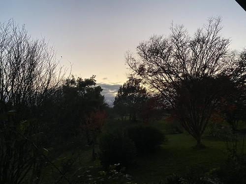 Sunset, coucher de soleil, Landes