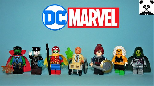 DC Characters as Marvel Characters