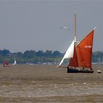 Thames Barge by John Russell