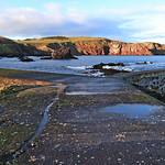 Harbour Promontory St Abbs Scotland by John Reddington