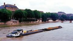 Paris Barge on the Seine Scene III