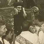 صورة نادرة لتجليس نيافة الانبا بيشوي في كفر الشيخ عام 1972 م