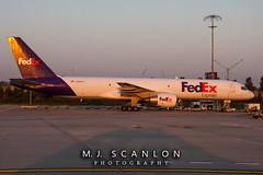 N988FD FedEx) |Boeing 757-222(SF) | Memphis International Airport