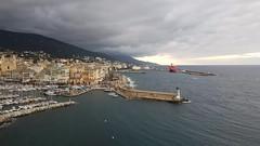 Vieux port de Bastia vue de l'Hotel Belvédère