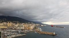 Vieux port de Bastia vue de l'Hotel des Gouverneurs