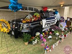 Everman Police Officer Alex Arango Memorial