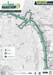 15em compétition, dimanche 15 septembre 2019, Semi Marathon de Rouen, 445em sur 2140 classés, 1h44,21