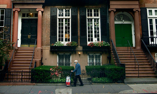 Life goes on - West Village, New York City