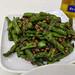 Green beans, pork, and fermented black beans