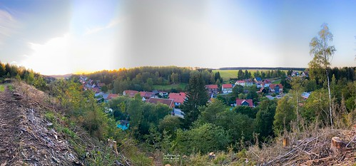 Tanne (Harz) from above