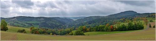 Herbst im Osterzgebirge