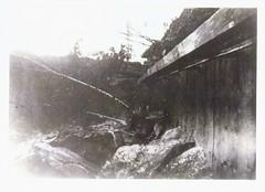 Side View of Bon Echo Walkway