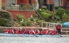 Seniors in Dragon Boat