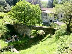 Béal les Plos with aqueduc, Cévennes, France