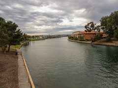 Overcast at West Lakes