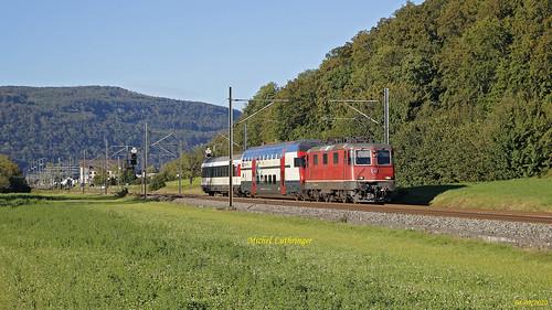 Re 4-4 11304 Train d'acheminement  à Murgenthal