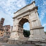 Arc de Titus, Forum Romain, Rome, 2020 - https://www.flickr.com/people/29248605@N07/