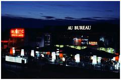 Lumières urbaines de nuit