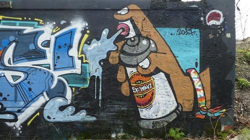 graffiti, Hangar Darwin, Bordeaux
