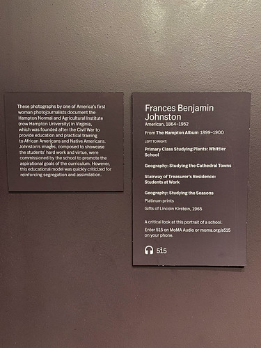 Frances Benjamin Johnston at MoMA - The Museum of Modern Art