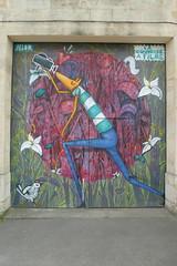 Selor graffiti, Hangar Darwin, Bordeaux