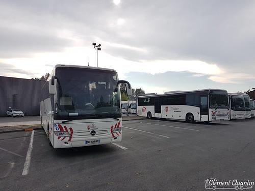 MERCEDES-BENZ Tourismo M - 146013 / Keolis Gironde |&| IVECO Crossway Pop - 191146 / Keolis Cars de Bordeaux