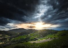 Coucher de soleil sur Collioure