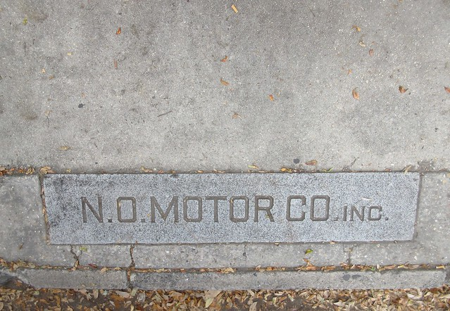 Photo:Sidewalk 'ghost sign', Canal Street, New Orleans By Infrogmation