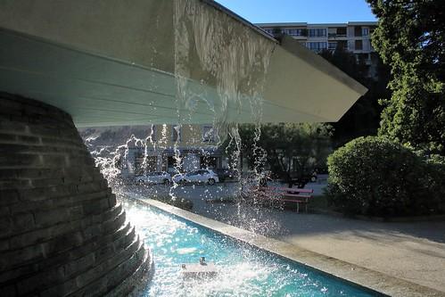 Fontana di Tita Carloni edificata nel 1954