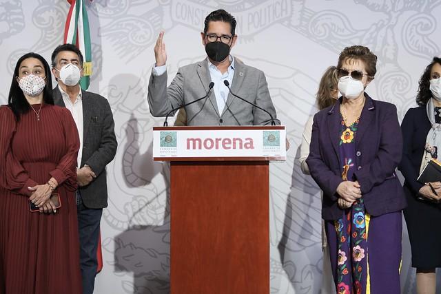 28/10/2020 Conferencia De Prensa Diputados Morena