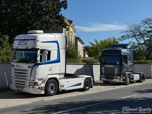 SCANIA R500 V8 - _ / STV |&| SCANIA R440 - _ / Alain Foulon